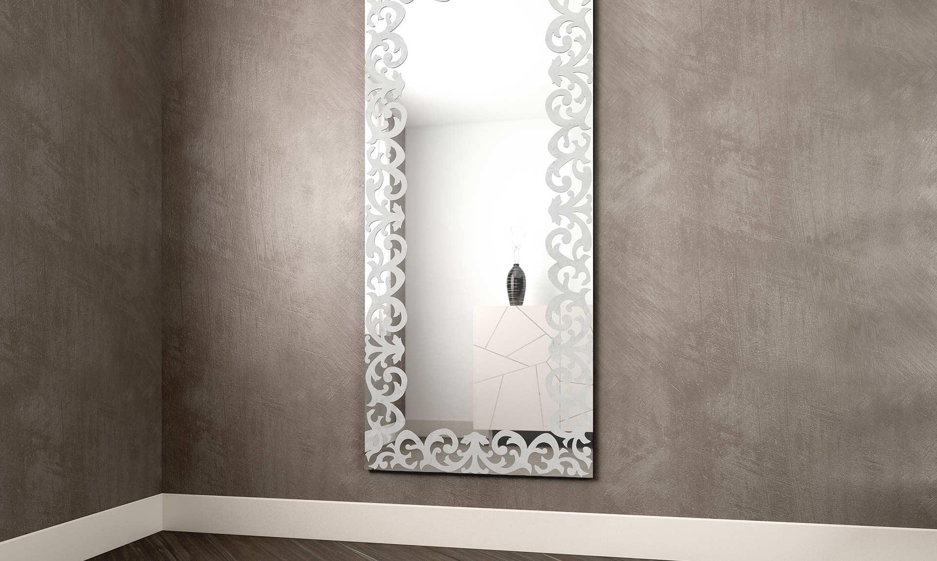 Specchi Da Muro Moderni.Specchi Moderni Specchio Per Bagno Dal Design Moderno N With