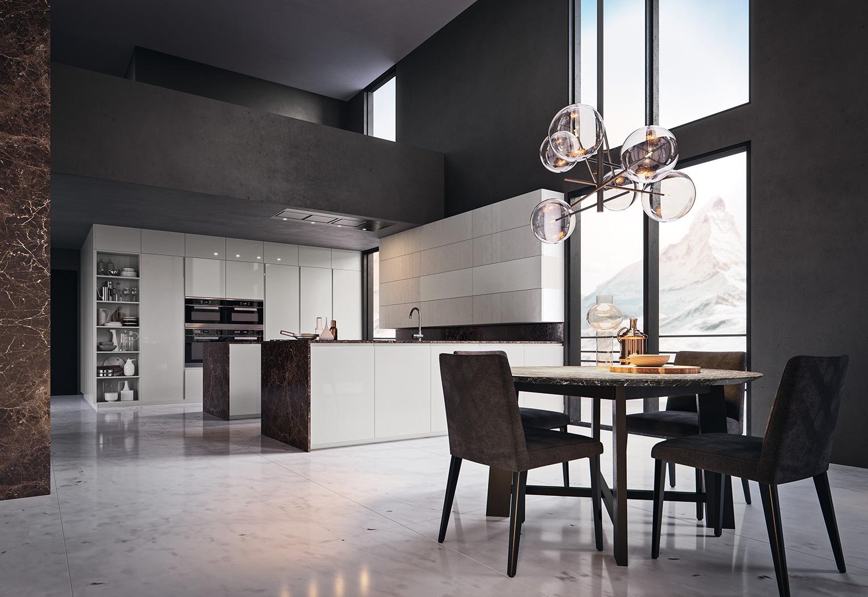 Gold edition ginocchi arredamenti - Prezioso casa cucine moderne ...