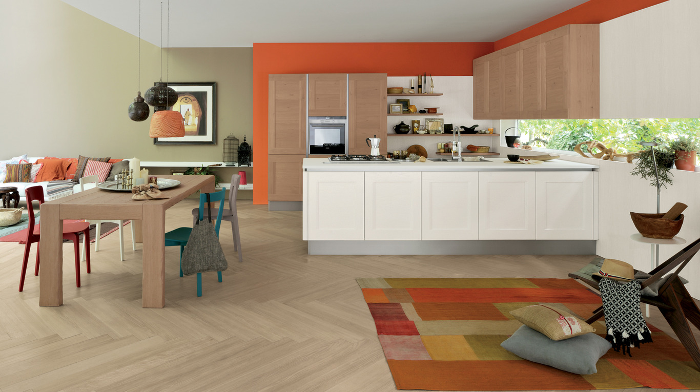 Dialogo shellsystem cucine moderne ginocchi arredamenti - Veneta cucine dialogo ...