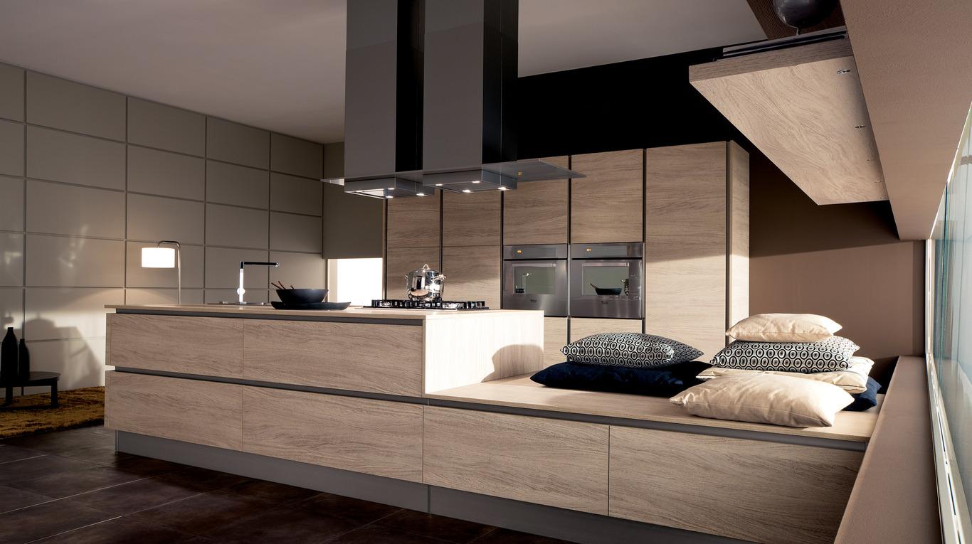 Oyster decorativo cucine moderne ginocchi arredamenti for Arredamenti e cucine