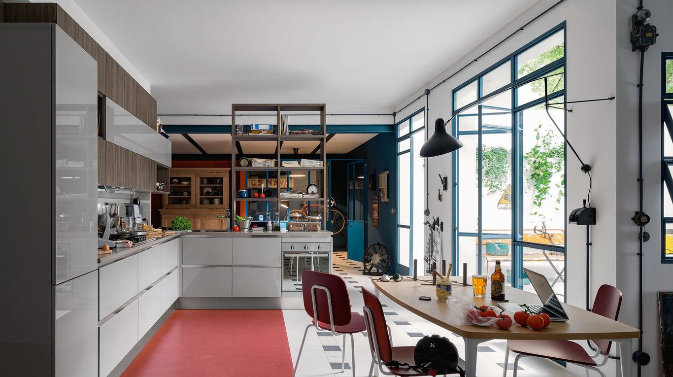 Carrera go cucine moderne veneta cucine ginocchi for Ginocchi arredamenti roma