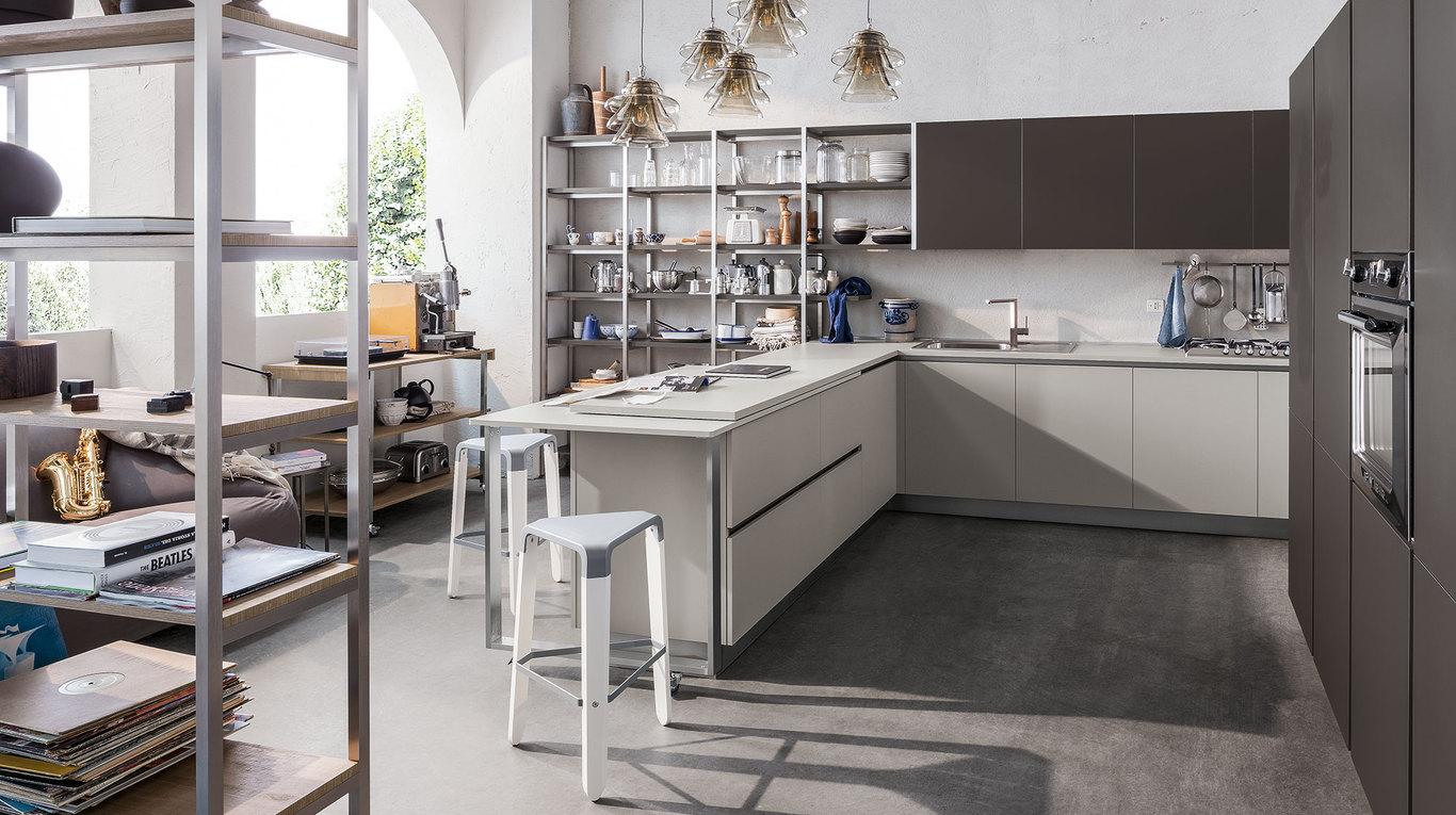 Start time j cucine moderne veneta cucine ginocchi for Arredamenti e cucine