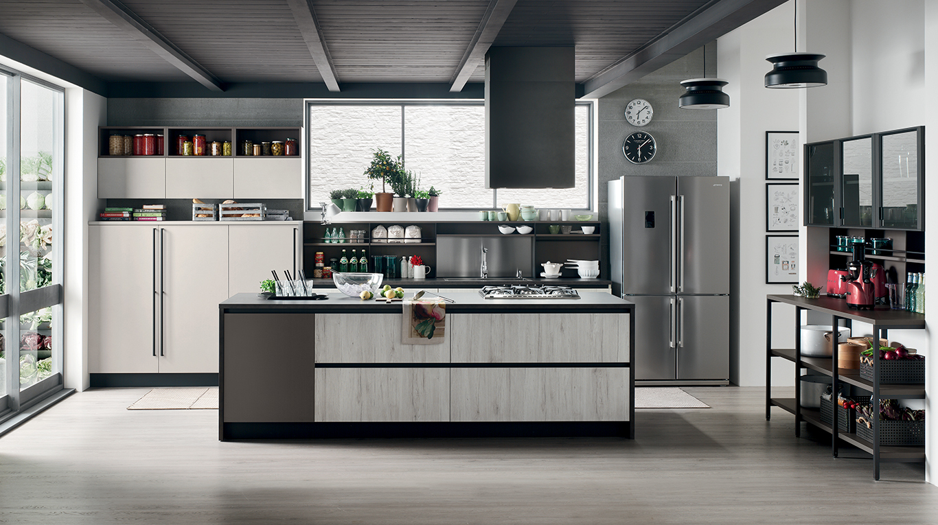 Start-Time J - Cucine Moderne - Veneta Cucine - Ginocchi Arredamenti