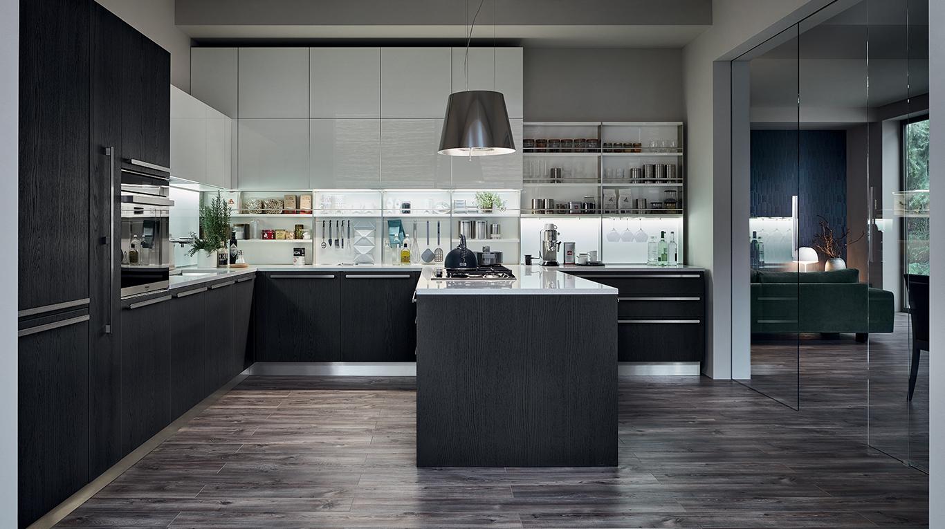 Extra cucine moderne veneta cucine ginocchi arredamenti - Veneta cucine moderne ...