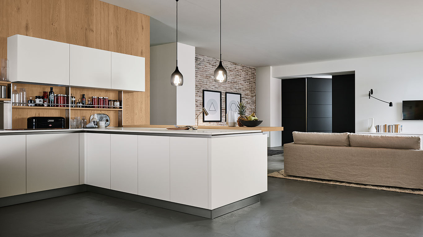 Oyster pro cucine moderne veneta cucine ginocchi - Veneta cucine moderne ...