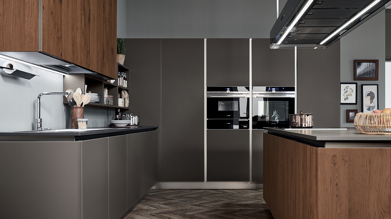 Ri flex cucine moderne veneta cucine ginocchi for Cucina riflex veneta cucine
