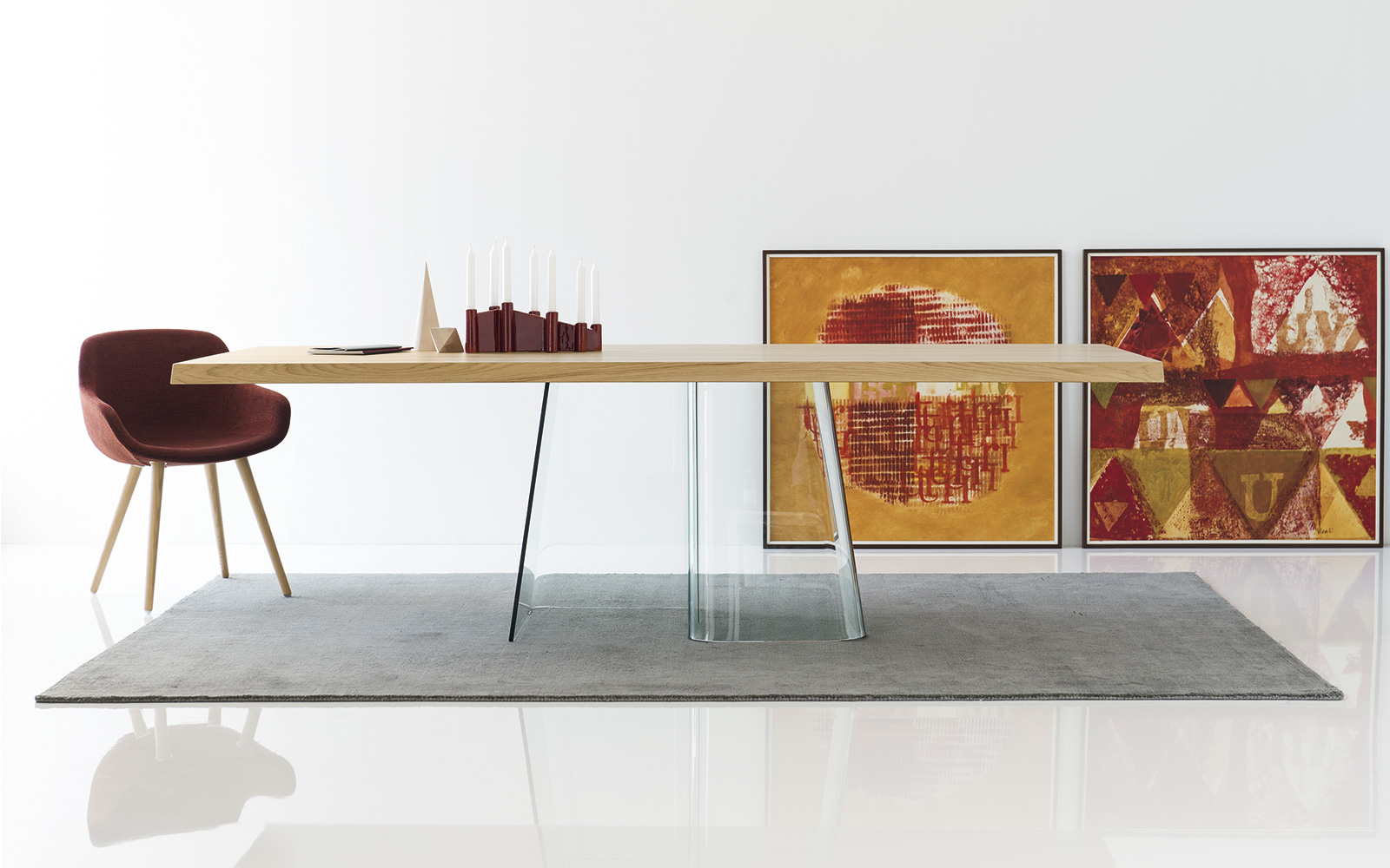 Volo tavolo calligaris ginocchi arredamenti - Credenze moderne calligaris ...