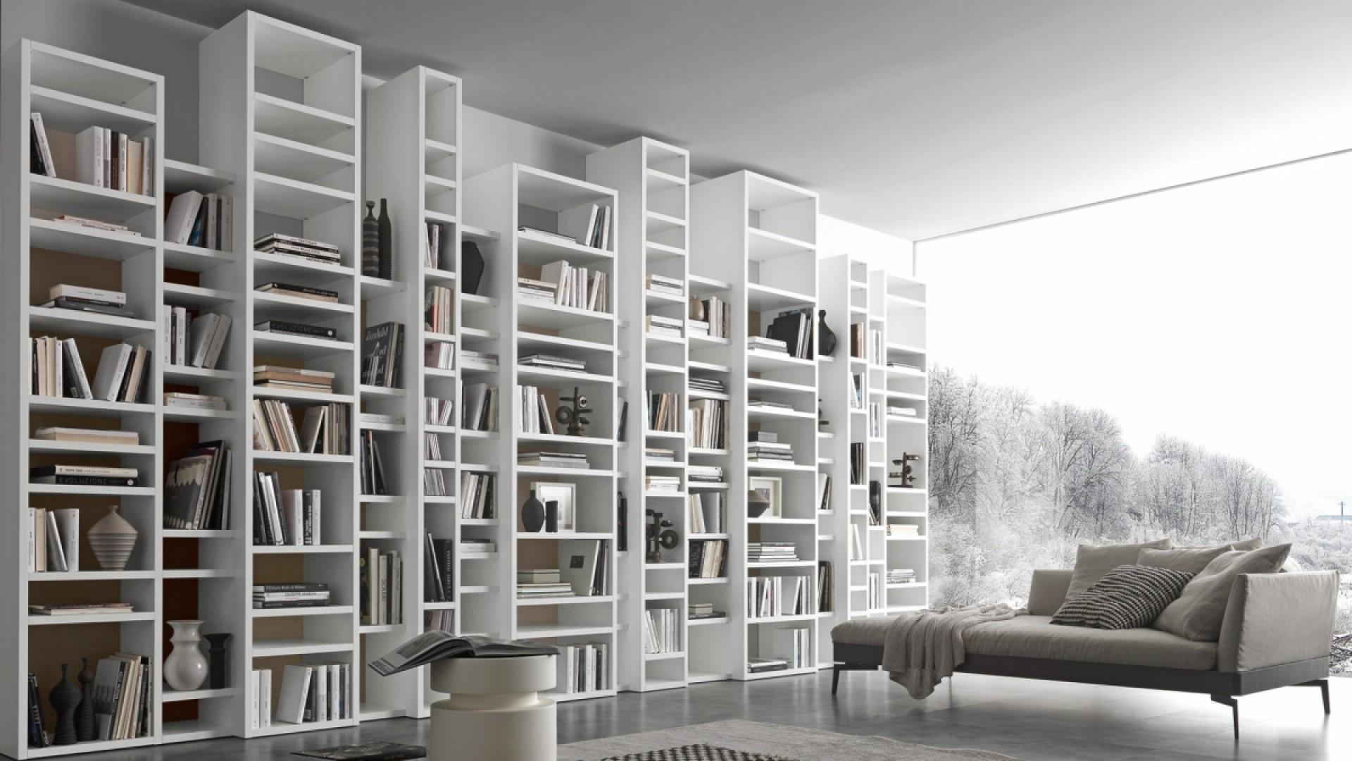 Pari e dispari librerie presotto ginocchi arredamenti for Librerie pareti attrezzate