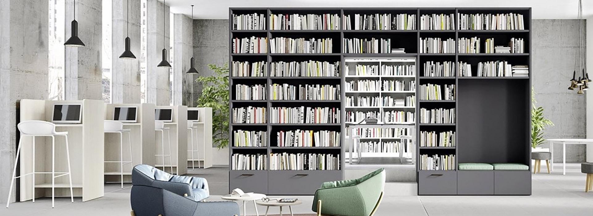 Librerie a ponte cinquanta3 ginocchi arredamenti for Ginocchi arredamenti