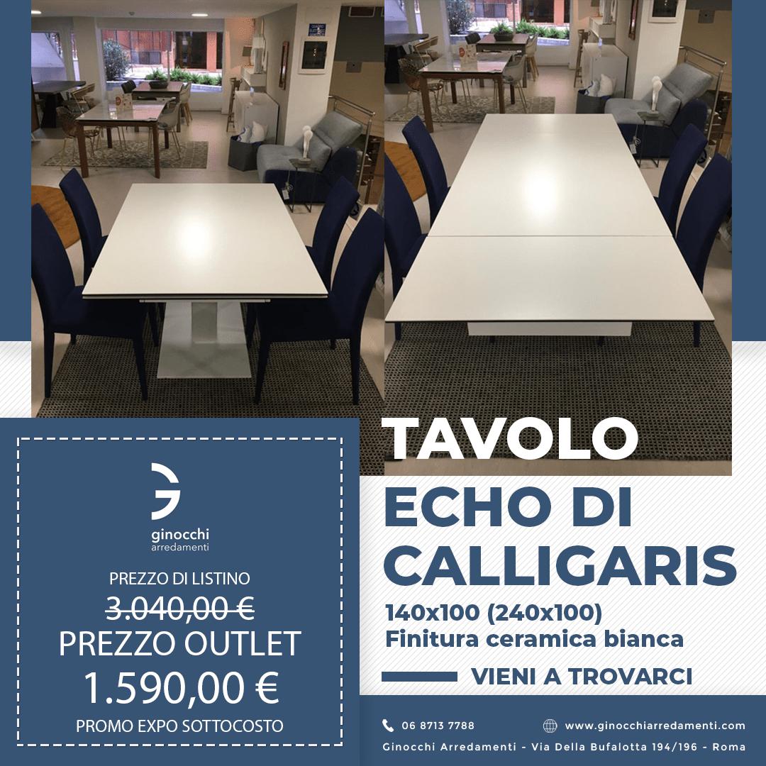 Tavolo Echo Calligaris in Offerta