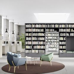 Librerie a ponte - Cinquanta3 - Ginocchi Arredamenti