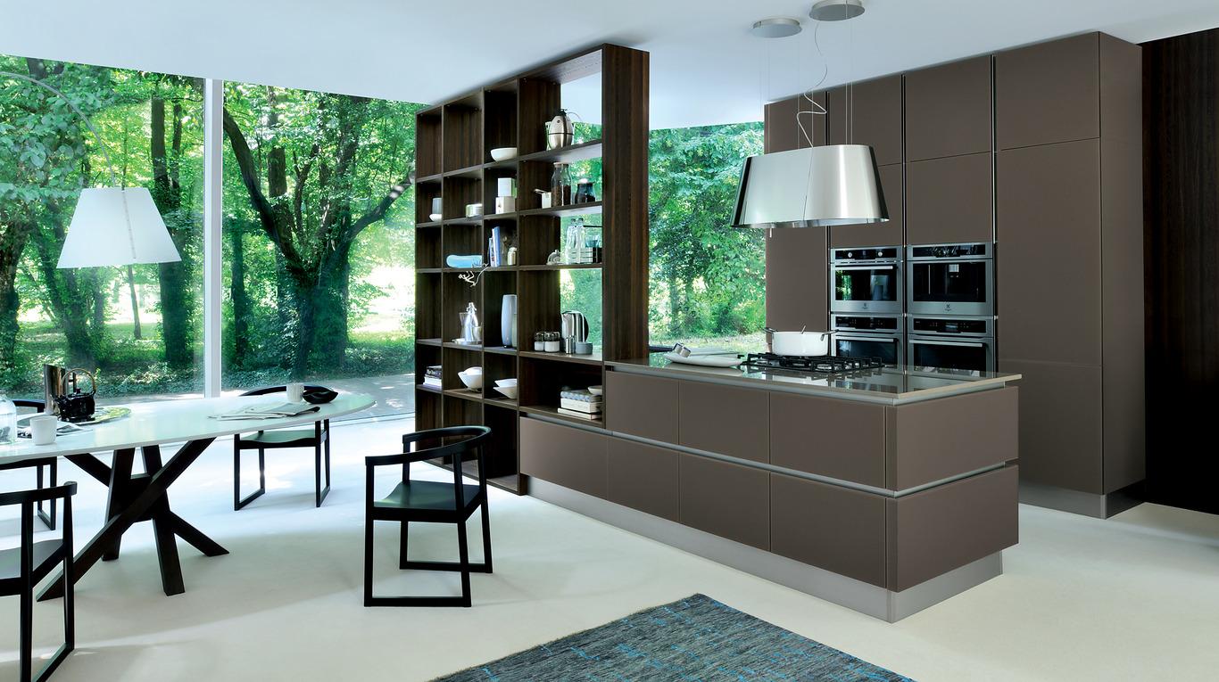Cucine Open Space Moderne ri-flex - cucine moderne - veneta cucine - ginocchi arredamenti