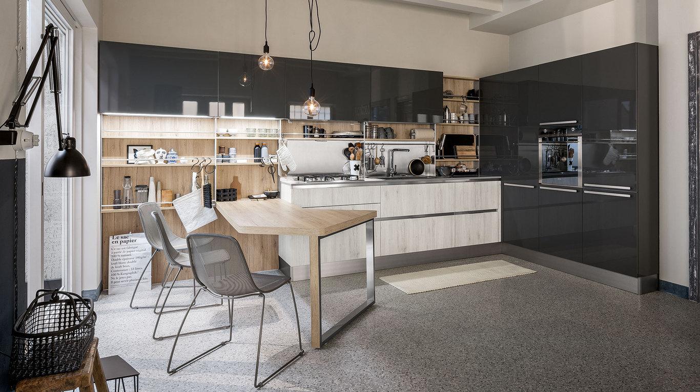 Veneta Cucine Misure Moduli.Start Time Go Cucine Moderne Veneta Cucine Ginocchi Arredamenti