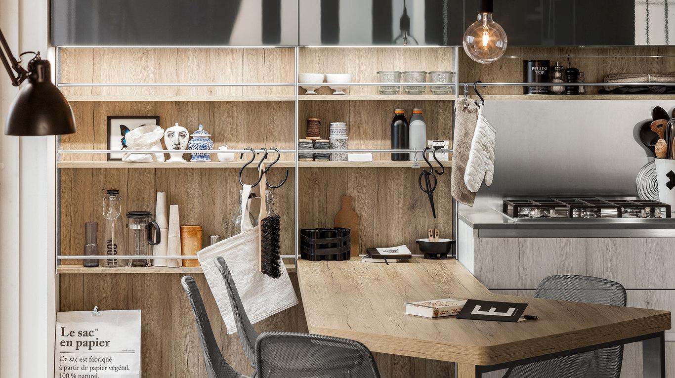 Start-Time.Go - Cucine Moderne - Veneta Cucine - Ginocchi Arredamenti